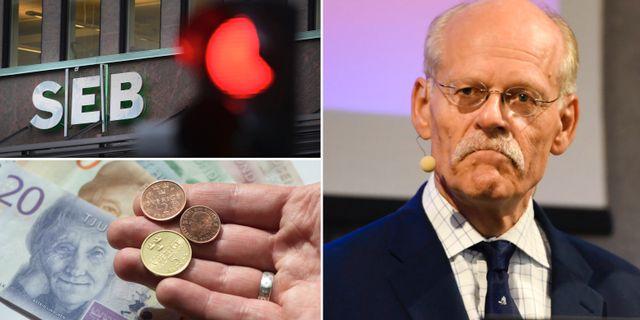 Riksbankschefen Stefan Ingves.  TT