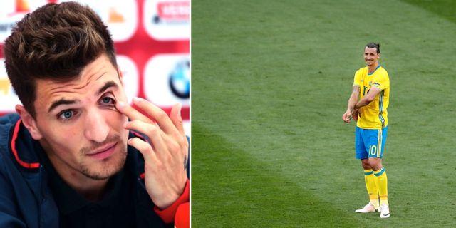Zlatan har ingen chans mot pato