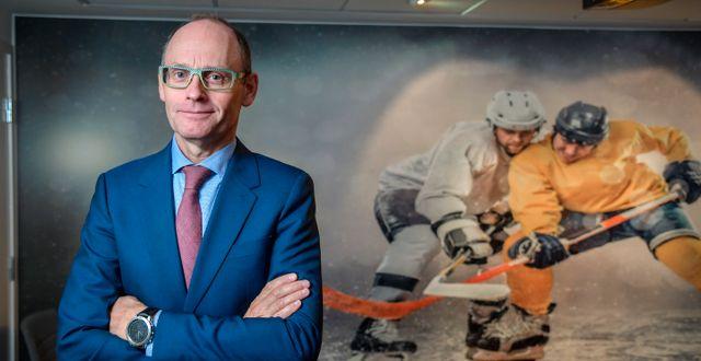 Pontus Lindwall, vd i spelbolaget Betsson. Anders Wiklund/TT / TT NYHETSBYRÅN