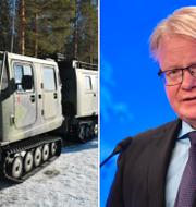 Försvarsministern Peter Hultqvist (S). Arkivbilder. TT