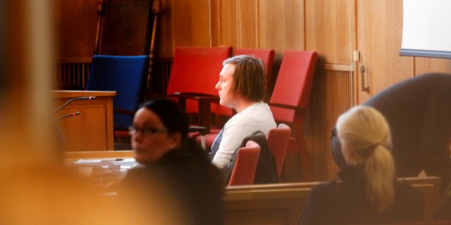 Billy Fagerström i rätten. Arkivbild. Mats Andersson/TT / TT NYHETSBYRÅN