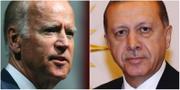 Joe Biden, Recep Tayyip Erdogan. TT