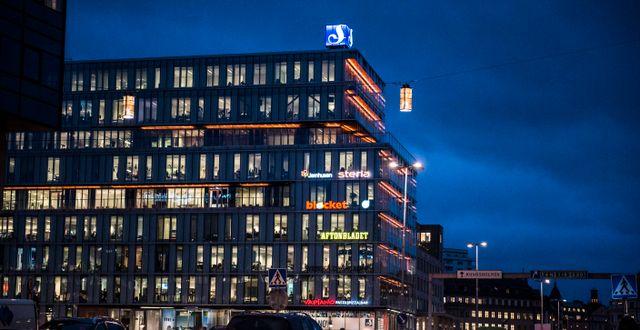 Aftonbladets kontor i Stockholm.  Lars Pehrson/SvD/TT / TT NYHETSBYRÅN