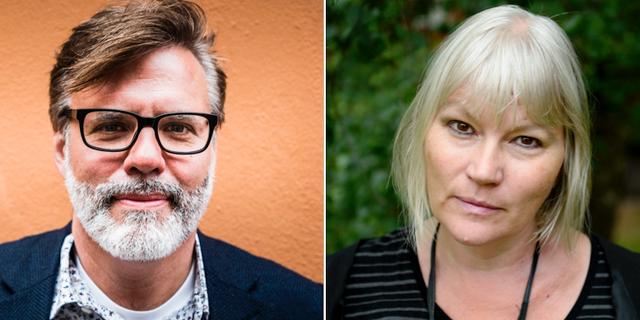 Christer Mattsson och Anna-Lena Lodenius TT