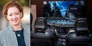 Ödgärd Andersson, mjukvaruchef på Volvo Cars.  Volvo Cars och TT