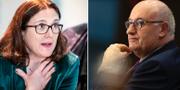 Cecilia Malmström och Phil Hogan TT