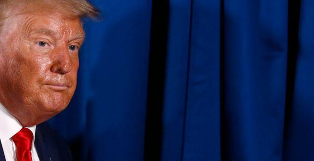 USA:s president Donald Trump.  Patrick Semansky / TT NYHETSBYRÅN