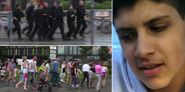 Polisinsatsen vid köpcentret, 22 juli/Sonboly TT