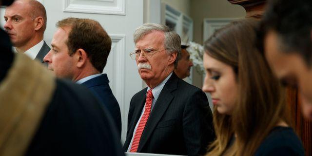 Den nationella säkerhetsrådgivaren John Bolton. Evan Vucci / TT NYHETSBYRÅN/ NTB Scanpix