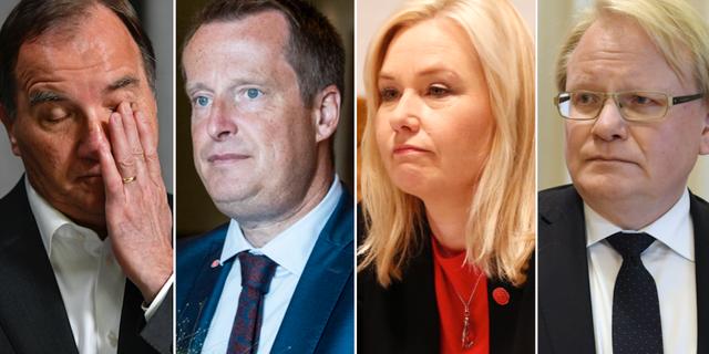 Stefan Löfven/Anders Ygeman/Anna Johansson/Peter Hultqvist TT