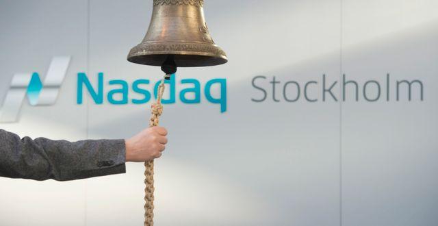 I dag ägs OMX av amerikanska Nasdaq-börsen.  FREDRIK SANDBERG / TT / TT NYHETSBYRÅN
