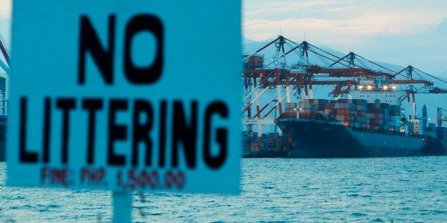 Subics hamn i Filippinerna.  Aaron Favila / TT NYHETSBYRÅN/ NTB Scanpix