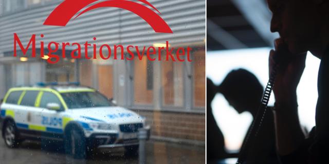 Illustrationsbilder, Migrationsverket. TT