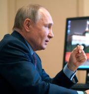 Rysslands president Vladimir Putin. Alexei Druzhinin / TT NYHETSBYRÅN