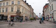 Storgatan i Nyköping sedd från Stora Torget. Henrik Montgomery/TT / TT NYHETSBYRÅN