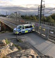 Brottplatsen på Årstabron i Stockholm/Arkivbild Marko Säävälä/TT / TT NYHETSBYRÅN