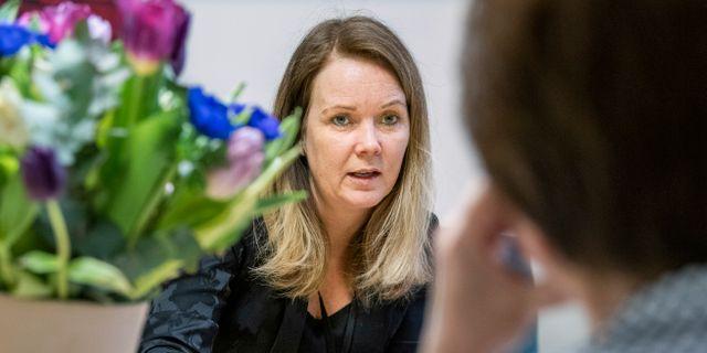 Landsbygdsminister Jennie Nilsson (S) Claudio Bresciani/TT / TT NYHETSBYRÅN