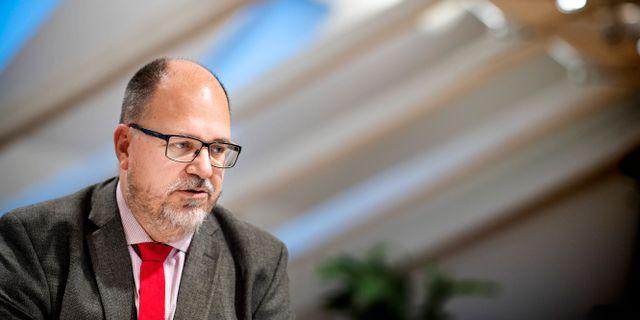 LO:s ordförande Karl-Petter Thorwaldsson. Pontus Lundahl/TT / TT NYHETSBYRÅN