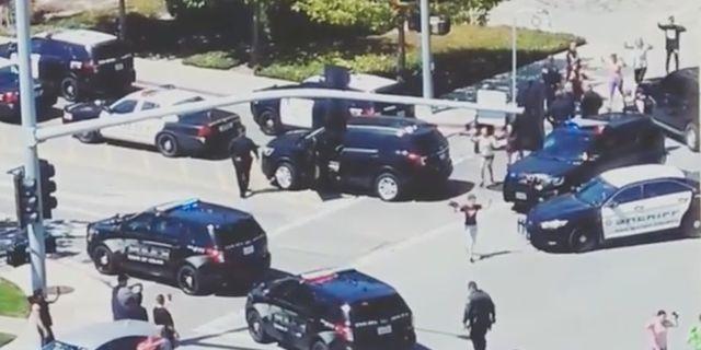 Har skjuter is sympatisoren 13 skott mot polisen