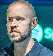 Spotifys medgrundare och vd Daniel Ek Lars Pehrson/SvD/TT / TT NYHETSBYRÅN