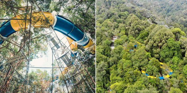 I augusti öppnar världens längsta vattenrutschbana, som blir 1 140 meter lång, på ön Penang i Malaysia.  Escape Theme Park