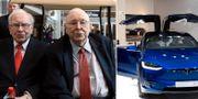 Warren Buffett och Charlie Munger. TT