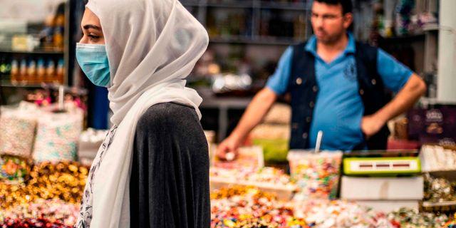 Priset på livsmedel har stigit kraftigt i Syrien. DELIL SOULEIMAN / TT NYHETSBYRÅN