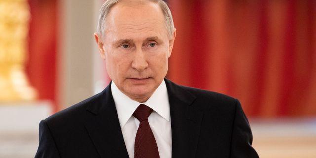 Rysslands president Vladimir Putin. Alexander Zemlianichenko / TT NYHETSBYRÅN