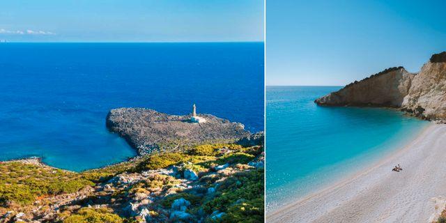Antikythera (vänster) tillhör de Ioniska öarna och påminner mycket om Lefkada (höger), enligt Lonely Planet. Thinkstock/Pexels