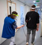 En mottagning på Karolinska i Solna som tar emot långtidssjuka i covid-19. Arkivbild. Anders Wiklund/TT / TT NYHETSBYRÅN