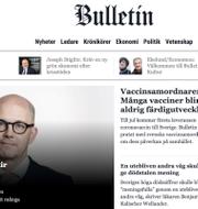 Åsa Linderborg/Bulletins startsida/Karin Olsson TT/Bulletin/Expressen