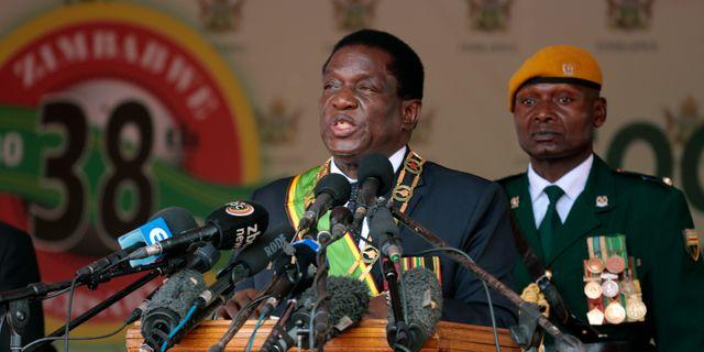 Emmerson Mnangagwa. Tsvangirayi Mukwazhi / TT / NTB Scanpix