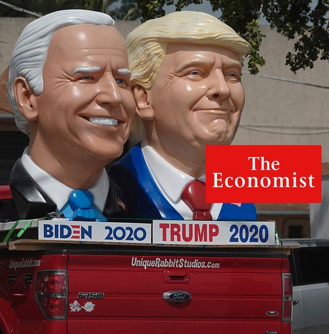Biden vs Trump.  Joe Cavaretta/TT