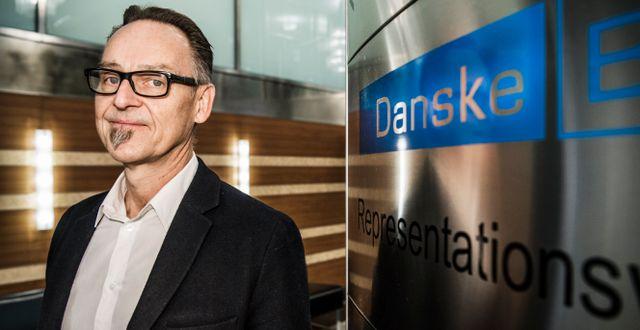 Michael Grahn, chefsekonom på Danske Bank. Lars Pehrson/SvD/TT / TT NYHETSBYRÅN