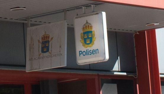 Polisstationen i Gävle, arkivbild Fredrik Sandberg/TT / TT NYHETSBYRÅN