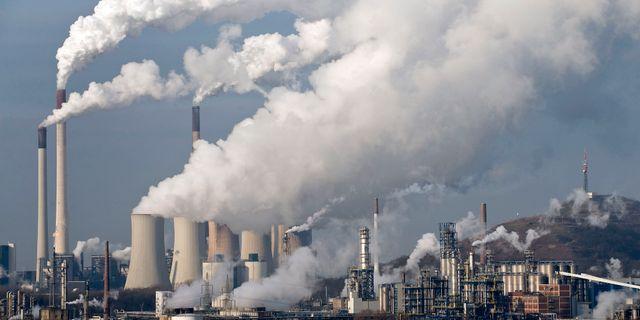 Arkiv. Ett kolkraftverk i Tyskland. Martin Meissner / TT / NTB Scanpix