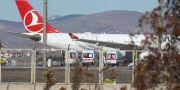Ankaras flygplats. ADEM ALTAN / TT NYHETSBYRÅN