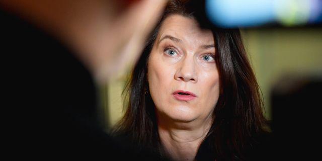 Ann Linde (S) Anders Wiklund/TT / TT NYHETSBYRÅN