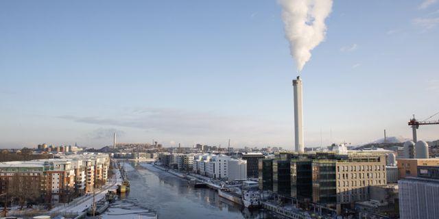 Hammarby sjöstad i Stockholm.  Anders Ahlgren/SvD/TT / TT NYHETSBYRÅN