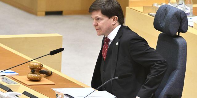Andreas Norlén. Claudio Bresciani/TT / TT NYHETSBYRÅN