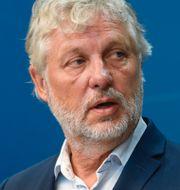 Peter Eriksson (MP)/Ebba Busch (KD). TT