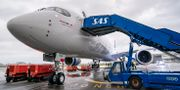 Ett SAS-plan på Köpenhams flygplats. Johan Nilsson/TT / TT NYHETSBYRÅN