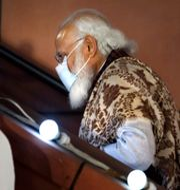 Indiens premiärminister Narendra Modi.  Manish Swarup / TT NYHETSBYRÅN
