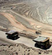 Illustrationsbild. Koppargruva i Chile.  MARTIN BERNETTI / AFP FILES