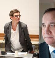 Maria Ågren/Stefan Löfven. TT