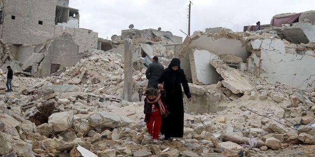 Syrien. ERHAN SEVENLER / TT / TT NYHETSBYRÅN
