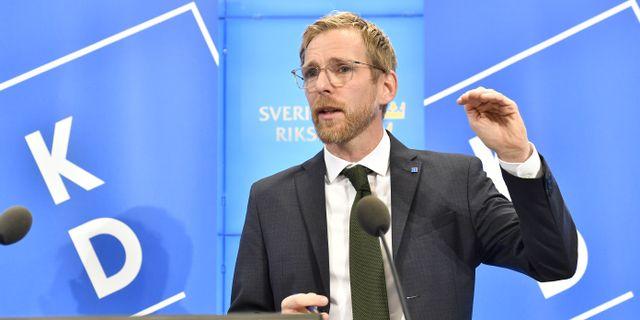 Jakob Forssmed Jonas Ekströmer/TT / TT NYHETSBYRÅN