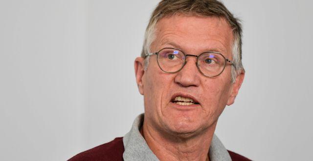 Statsepidemiolog Anders Tegnell.  Anders Wiklund/TT / TT NYHETSBYRÅN