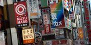 Reklamskyltar i Tokyo. JANERIK HENRIKSSON / TT / TT NYHETSBYRÅN