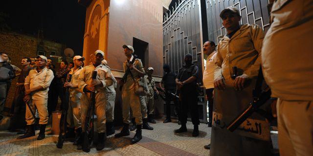 Skot med granateld mot polis i egypten